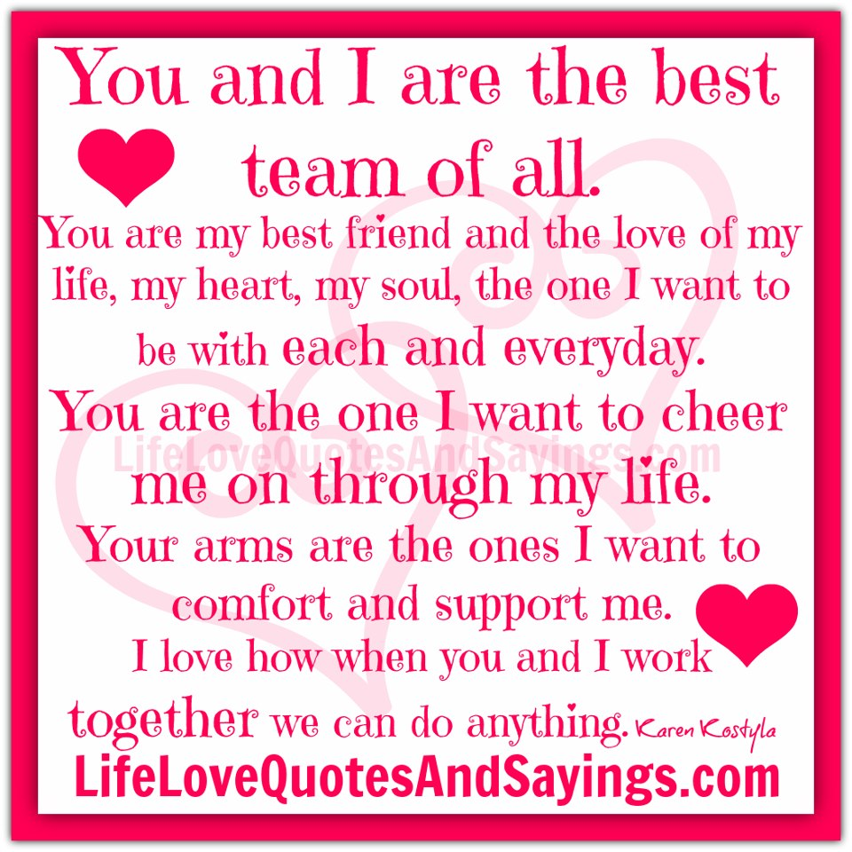 I Love You Quote: Love Quotes