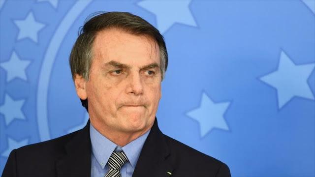 Caen en picada popularidad y confianza en Gobierno de Bolsonaro