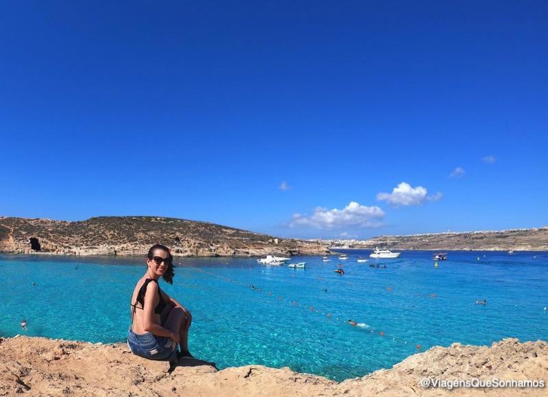 praia mais bonita de Malta