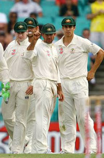Ganguly's Dismissal in Sydney Test 2008 2nd Innings