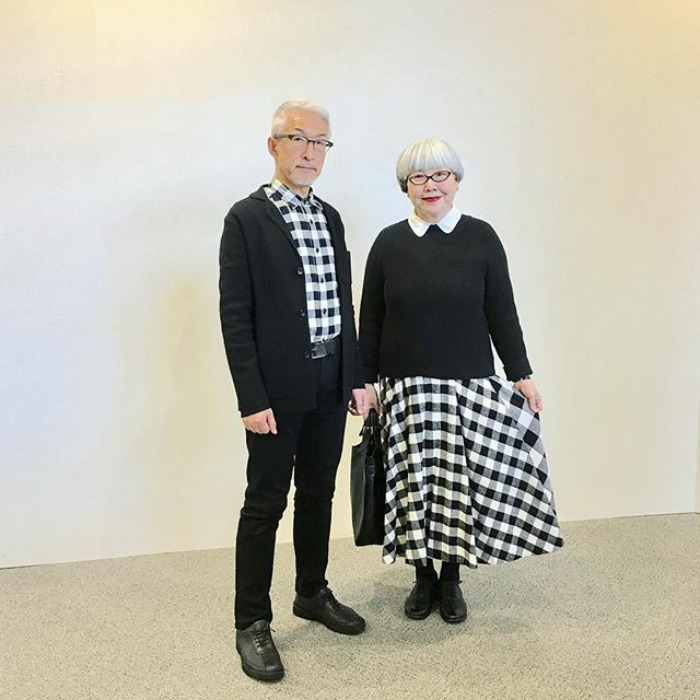 #3 - This Couple Married For 37 Years Always Dress In Matching Outfits