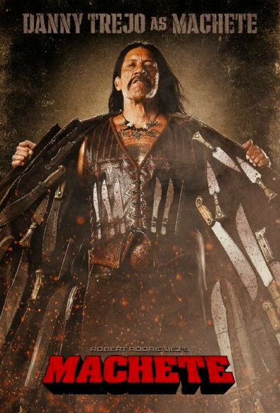 The Crossover Universe: Crossover Movie Posters: Machete