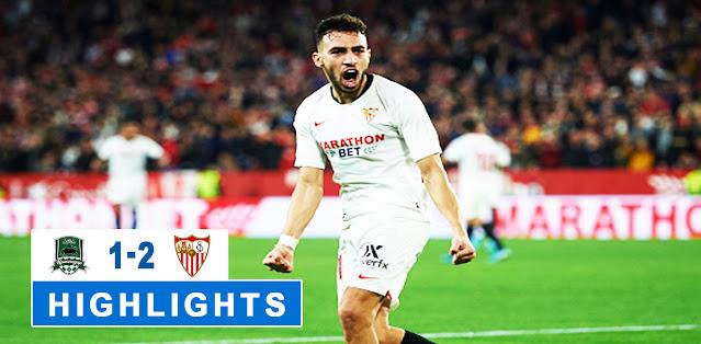 Krasnodar vs Sevilla – Highlights