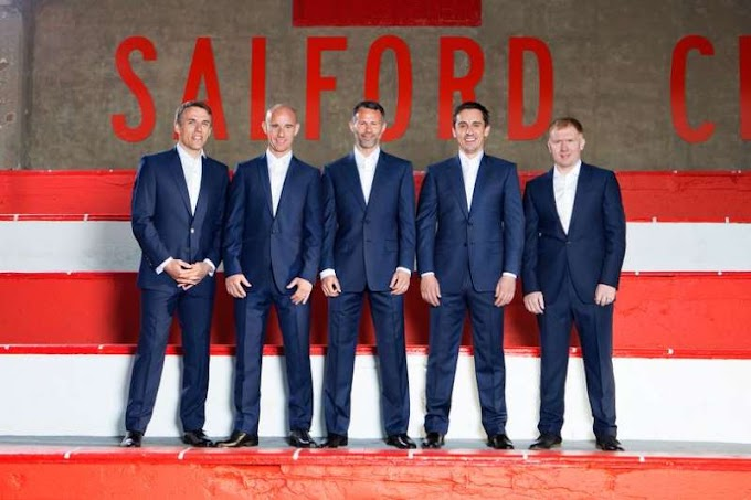 David Beckham buys stake in Salford City FC joining forces with former Man Utd teammates
