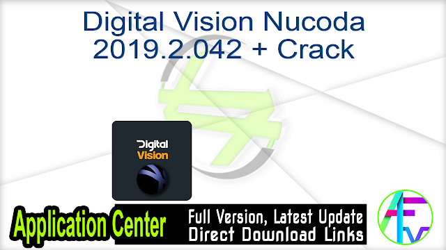 Digital Vision Nucoda 2019.2.042 + Crack