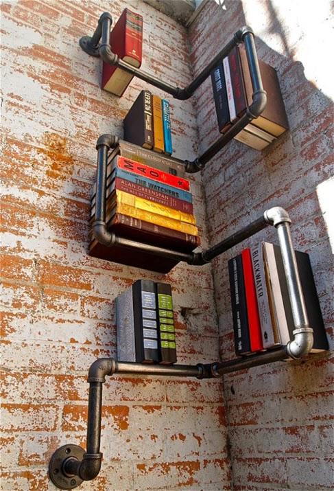 Πρωτότυπη βιβλιοθήκη ραφιέρα