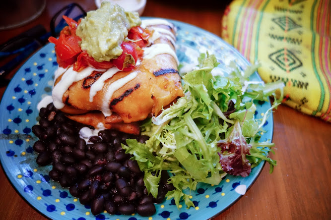 Flying Fajita Sistas Glebe Chimichanga Food Blog