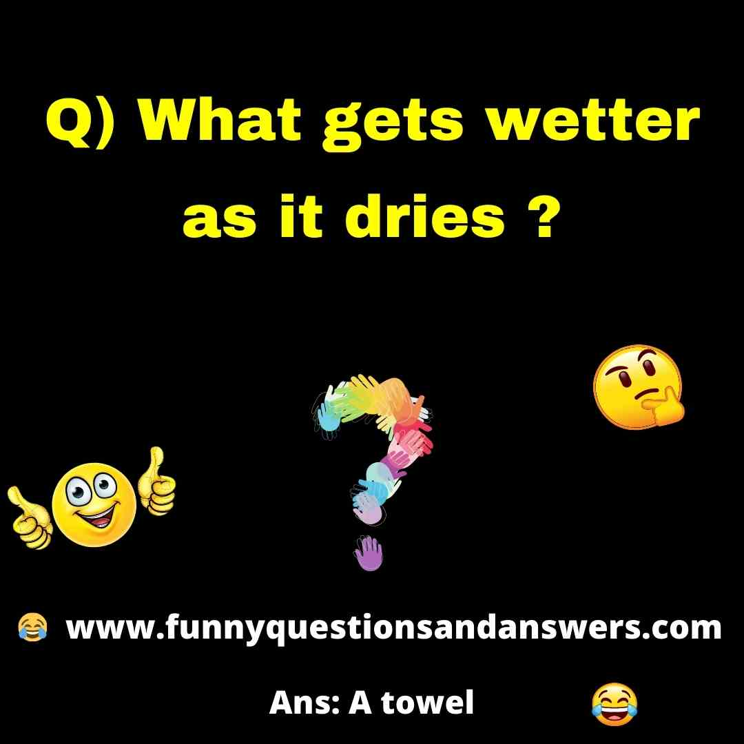 Funny brain test questions and answers