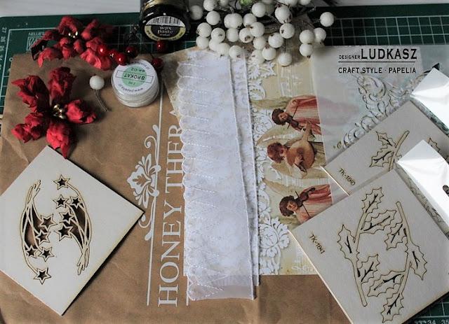 Jak przerobić starą torebkę zakupową na świąteczną torbę na prezenty ? – DT Papelia