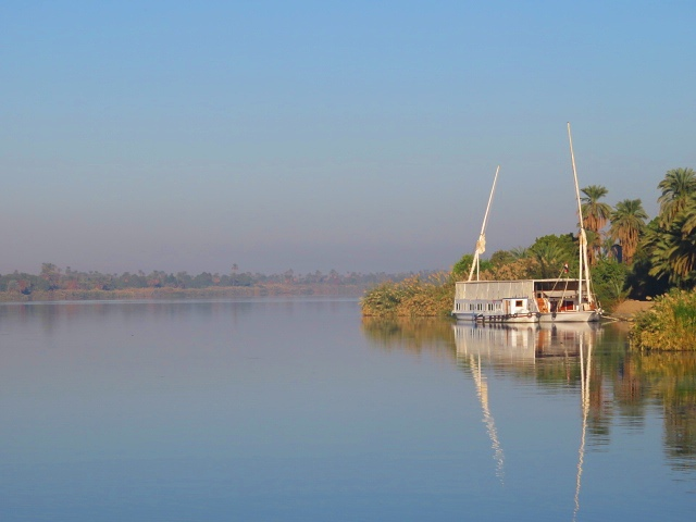Nile River dahabiya