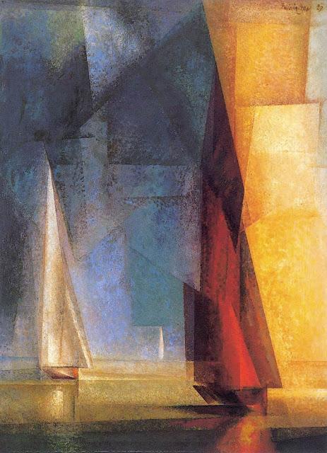 Lyonel Feininger Denizde Sakin Gün