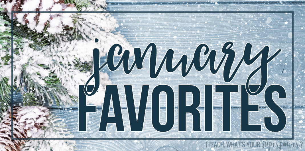 It's time for January favorites! Read about a major get focused time saver, a slightly ridiculous coffee accessory, and more.
