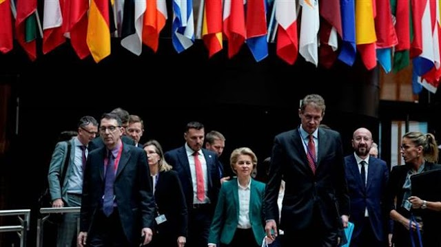 The European Union says the United States cannot allow Russia back in Group of Seven