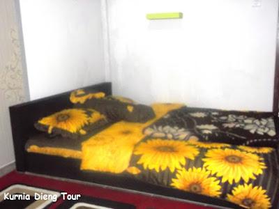 gambar kamar homestay flamboyan dieng