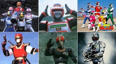 Como surgiram os super-heróis japoneses na TV e mangás
