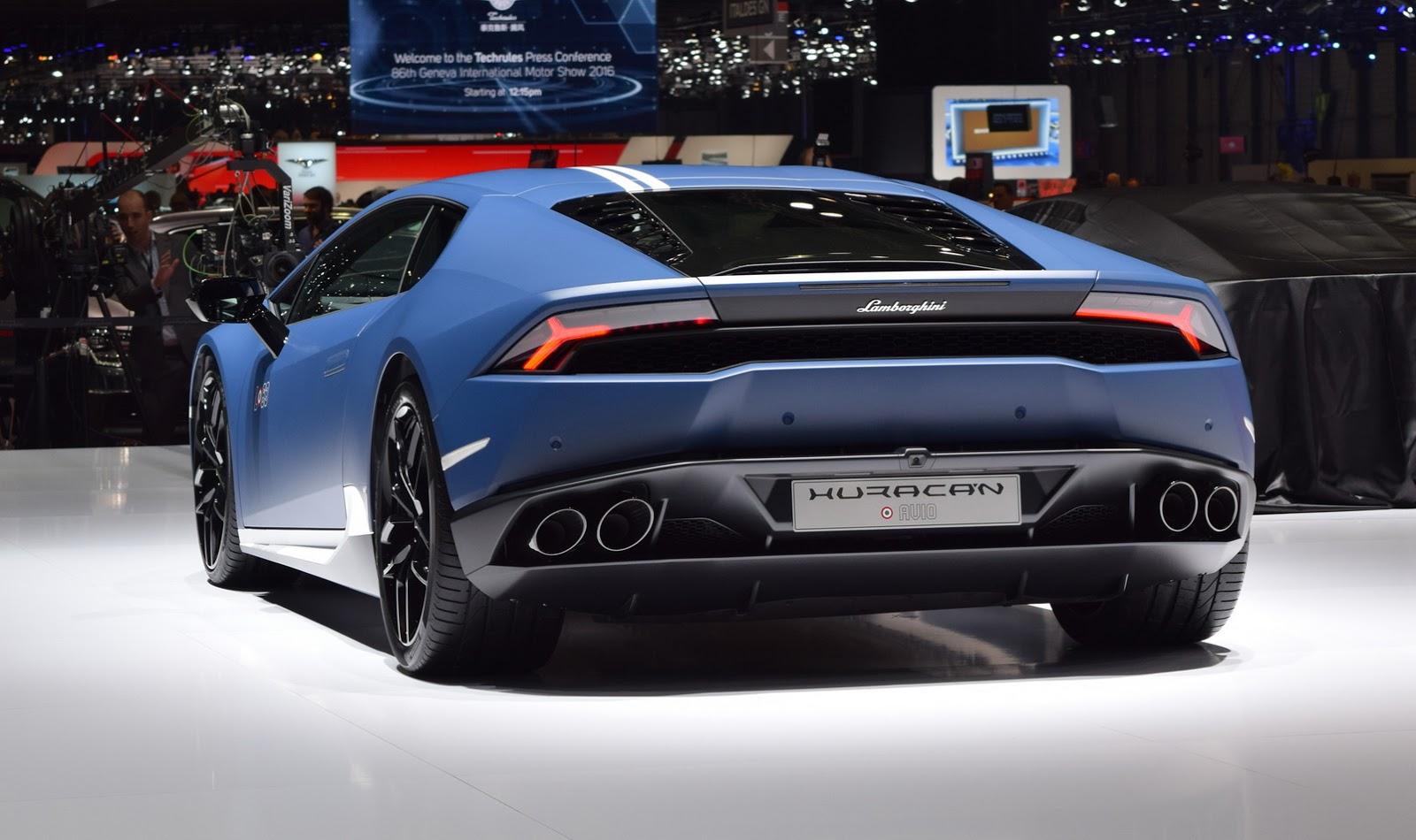 Siêu xe Lamborghini Huracan Avio 2017 - Phản lực đường phố
