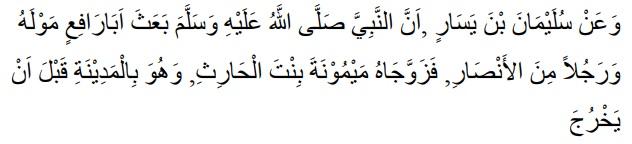 Dasar Hukum Wakalah - HR. Malik No. 678, Kitab Al-Muaththa
