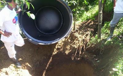 formacion de las fosas septicas