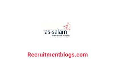 Pharmacists At As-salam International Hospital |اليوم المفتوح للتوظيف لخريجي كليه الصيدله وظائف متنوعه للصيادله بمستشفي السلام الدولي