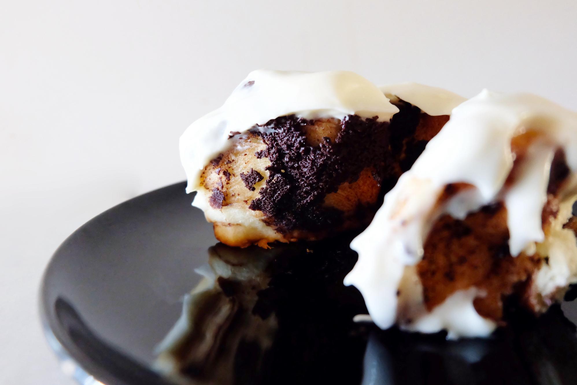 chocolate sweet roll