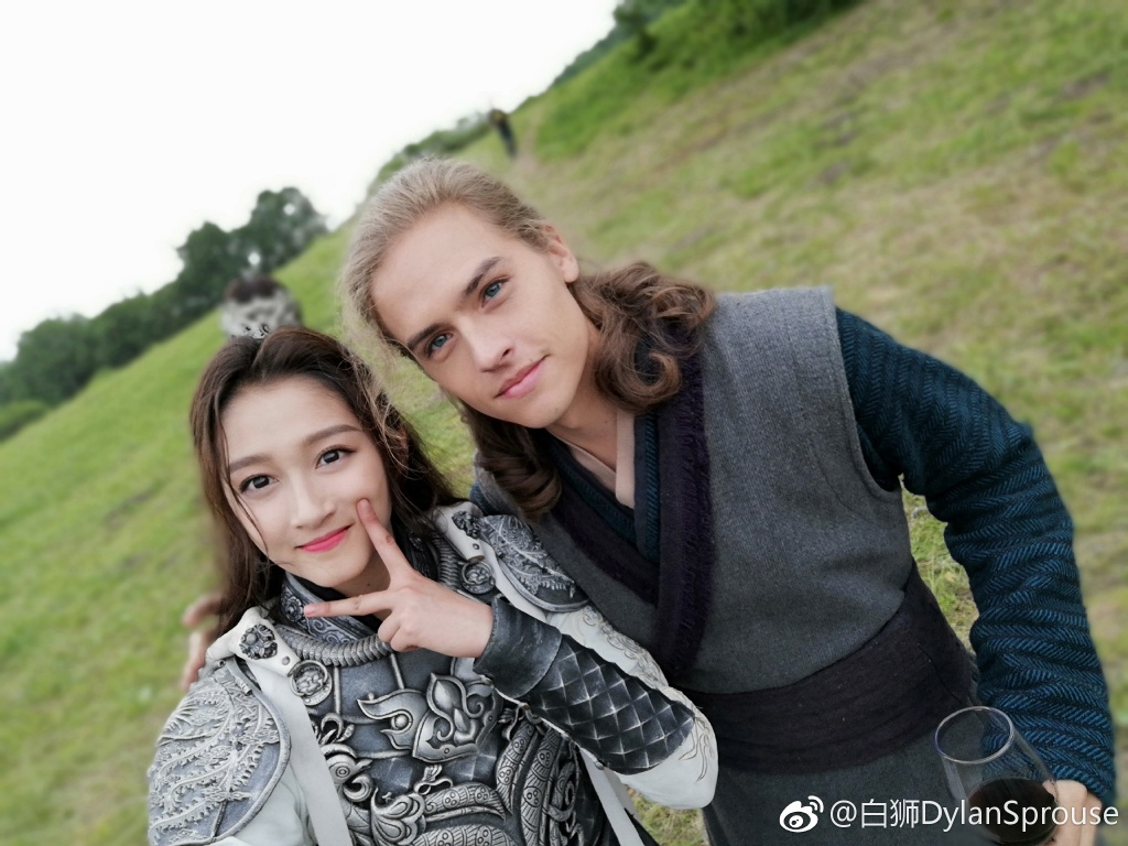 guan xiaotong and dylan sprouse wrap filming for new movie