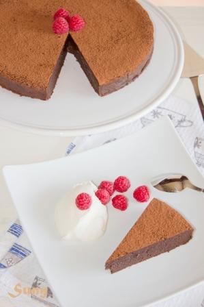 Tarta de chocolate de Donna Hay