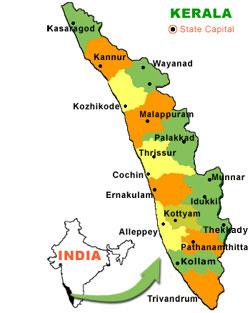 Muslim Population in Districts of Kerala ~ Muslim Census
