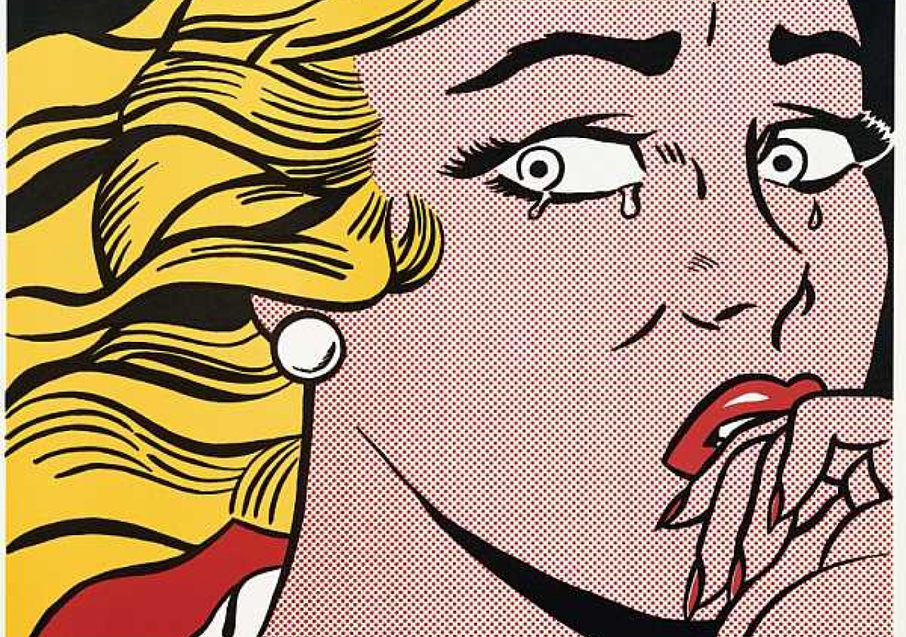 Roy Lichtenstein, pop-art