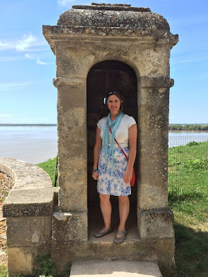 Homemade skirt Blaye French Village Diaries au revoir 2016