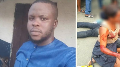 Man Shot Dead In Front Of His Girlfriend In Rivers State (Graphic Photo)