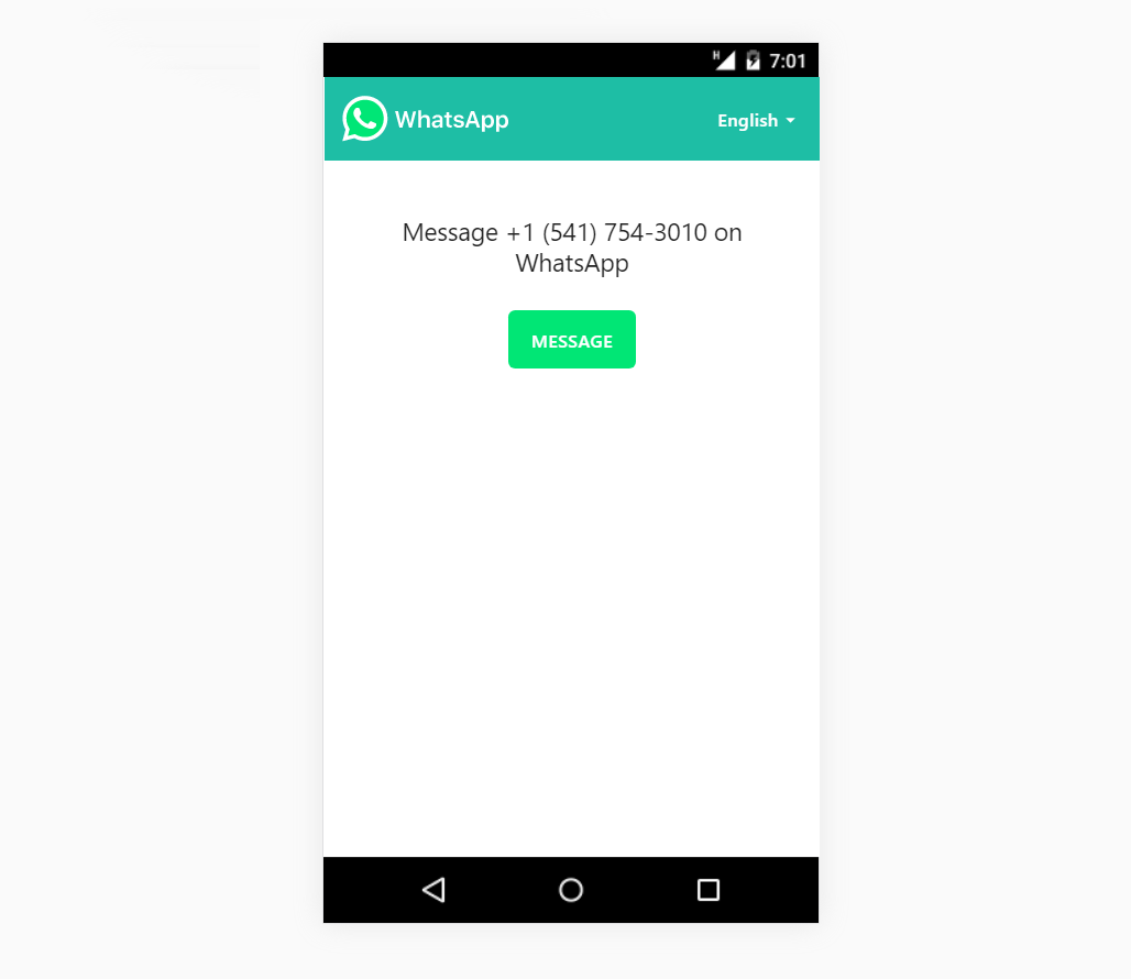 How To Send Message To Someone Via Whatsapp That Are Not in Your Contact list