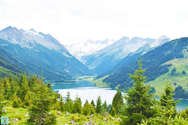 Lago Speicher Durlassboden en Austria