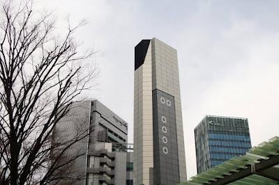 TV Asahi Headquarter at Roppongi Hills Tokyo