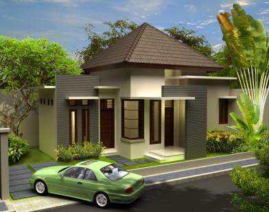 Desain Rumah 1 Lantai Sederhana Minimalis Modern 2014