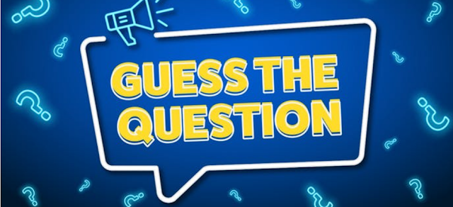 Guess the Question game Quiz Answers 100% Score