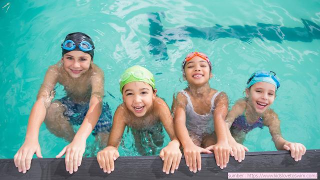Kegiatan Olahraga Seperti Berenang