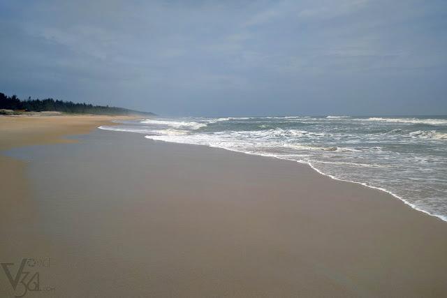 Deserted Kasarkod Eco beach