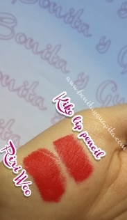 riri woo mac precision lip pencil 307