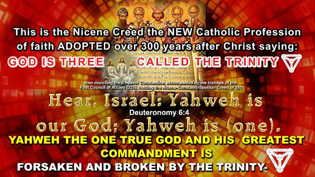 Deuteronomy 6:4 BROKEN By The TRINITY.