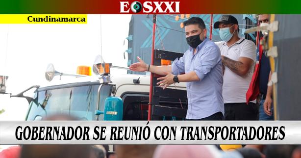 Gobernador García abre paso en la provincia del Tequendama