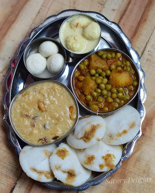 Homemade delights on Prathamastami by Julie