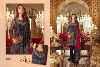 Shree fab Zara vol 3 Pakistani Suits wholesaler