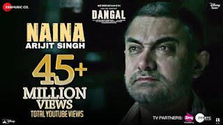Naina Lyrics - Dangal | Arijit Singh