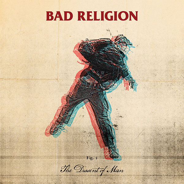 "Bad Religion's ""The Dissent of Man"" has turned 10 years old today"