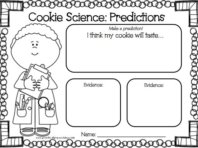 Christmas Cookie Science FREEBIE