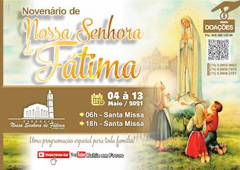 Faça sua doação (oferta) para a Paroquia de Nossa Senhora de Fátima de Salobro através do PIX: 94539514500