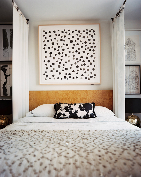 Eclectic bedroom | Lonny