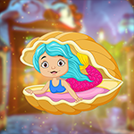 G4K Beautiful Sea Mermaid Escape
