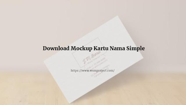 mockup-kartu-nama-simple