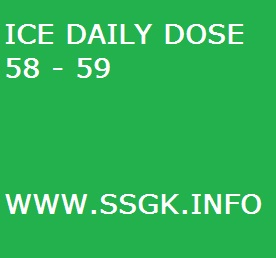 ICE DAILY DOSE 58 - 59